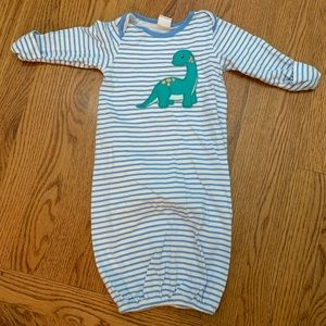 2 infant gowns